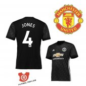 Camiseta Jones Manchester United Segunda 2018 Negro