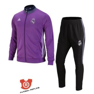 Chandal del Real Madrid 2017 Purpura