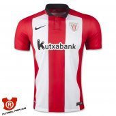 Camiseta Athletic Bilbao Primera 2016 Rojo y Blanco
