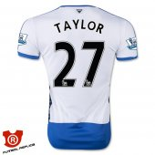 Camiseta Taylor Newcastle United Primera 2016 Blanco