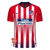 Camiseta Atletico Madrid Authentic Primera 2019 Rojo y Blanco
