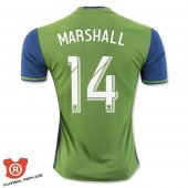 Camiseta Marshall Seattle Sounders Primera 2017 Verde