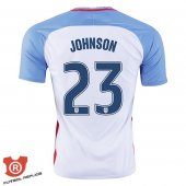 Camiseta Johnson USA Primera Blanco 2017