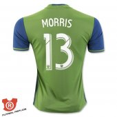 Camiseta Morris Seattle Sounders Primera 2017 Verde
