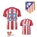 Camiseta Thomas Atletico Madrid Primera 2017 Rojo y Blanco