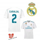 Camiseta Carvajal Real Madrid Primera 2018 Blanco