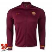 Camiseta AS.Roma Chaqueta 2016 Rojo