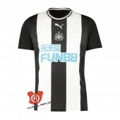 Camiseta Newcastle United Primera 2020 Blanco y Negro