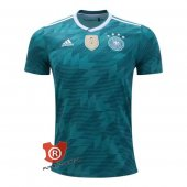 Camiseta Alemania Authentic Segunda 2018 Verde