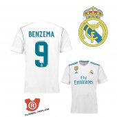 Camiseta Benzema Real Madrid Primera 2018 Blanco