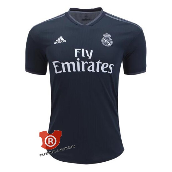 camiseta real madrid azul 2019
